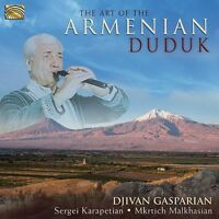 Djivan Gasparian, Dj - Art Of The Armenian Duduk [new Cd] on Sale
