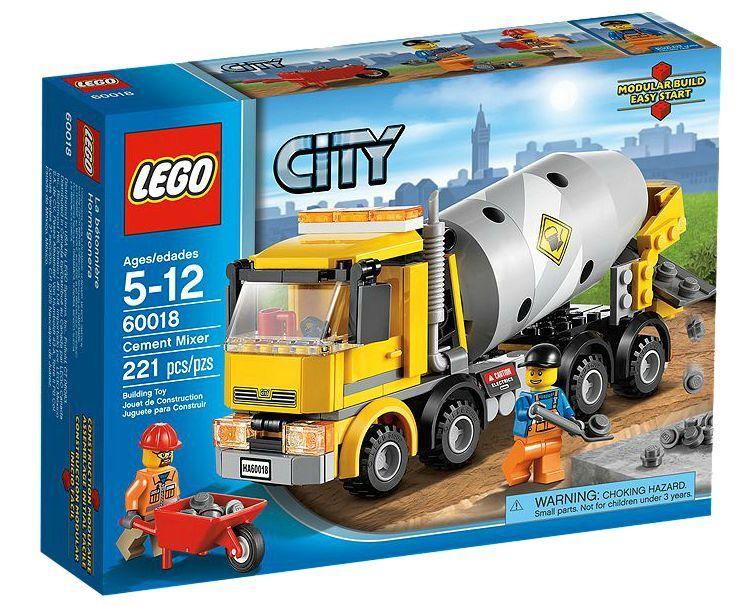 LEGO® City 60018 Betonmischer NEU OVP_ Cement Mixer NEW MISB NRFB