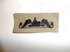 b5169 WW2 US Navy Chief Petty Officer Submarine Qualification badge khaki IR33F