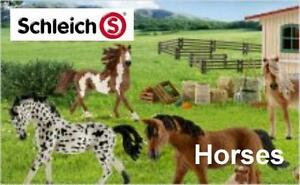 Schleich-Horses-Pferde-Reiter-Zubehoer-Freie-Auswahl