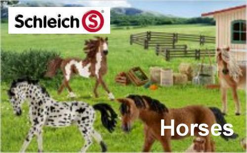 Schleich Horses - Pferde, Reiter, Zubehör - Freie Auswahl