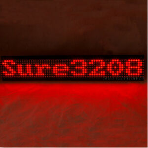 P7-62-32X8-3208-Red-LED-Dot-Matrix-Unit-Board-Information-Display-Board