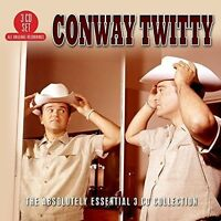 Conway Twitty - Absolutely Essential 3 Cd Collection [new Cd] Uk - Import on Sale