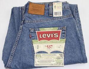 Vintage-VTG-Levi-039-s-537-Baggy-Fit-Jeans-32x32-NWT
