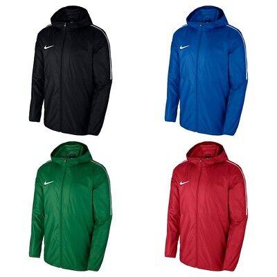 Nike Mens Rain Jacket Dry Waterproof Wind Breaker Raincoat Hoodie Lightweight | eBay