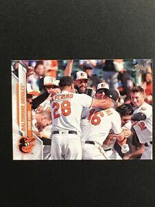 2020 Topps Series 2#694 Baltimore Orioles Team Card