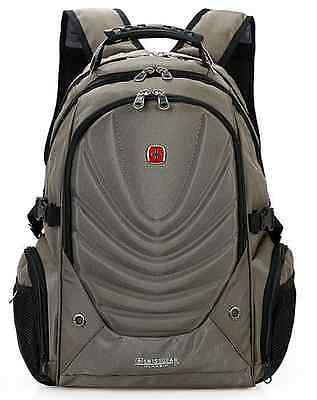 15.6' Laptop Swiss Gear Backpack Computer School Bag Men's Large Travel Backpack