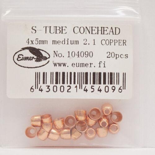 S-Tube Conehead Eumer Finland MEDIUM 20 Stück KUPFER