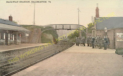 1 Southwick Castle Douglas. Dalbeattie Railway Station Photo
