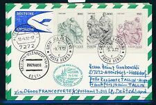 78405) LH FF Frankfurt - Tallinn Estland 29.3.92, Karte ab Vatikan