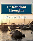 Unrandom Thoughts: Your Journal of Hope & Inspiration by Len Elder (Paperback / softback, 2010)