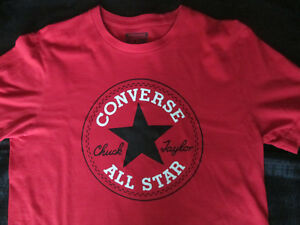 37aad24a40f9 Image is loading Converse-All-Star-T-Shirt-S-P-Chuck-Taylor-