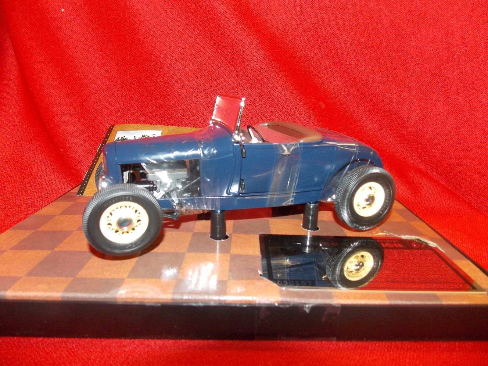 Highway 61 Origins of Speed Model  A  Ford Roadster bluee