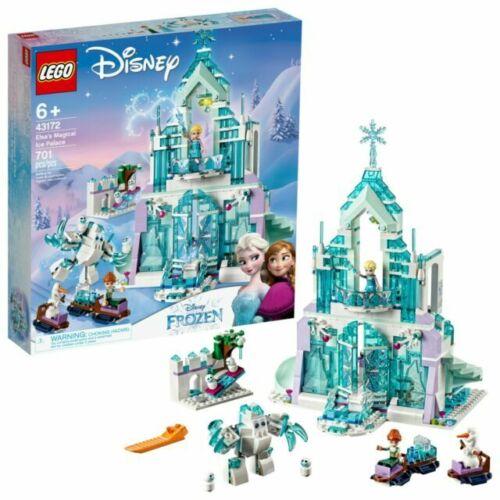 LEGO 43172 Disney Frozen Elsa/'s Magical Ice Palace 701 Pcs SEALED New Princess