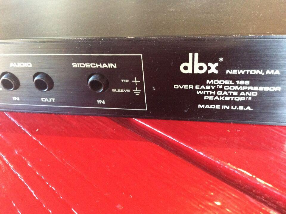 DBX 166 COMP / LIMITOR