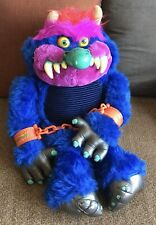 Rare 1986 Vintage Amtoy My Pet Monster with Cuffs Great Condition