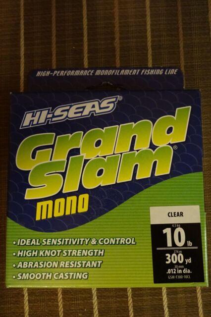 Hi-Seas Grand Slam Mono Fishing Line Clear Monofilament 8 LB 300 YD