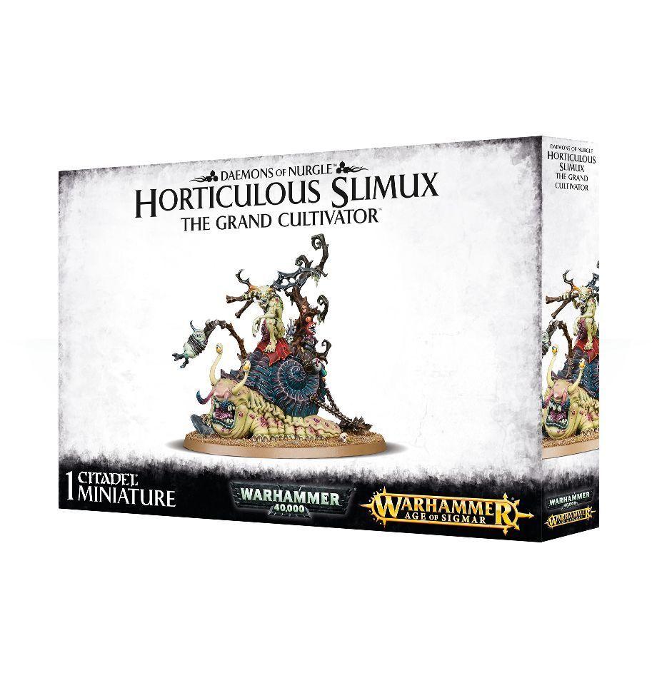 Daemons de Nurgle Horticulous Slimux Games Workshop Warhammer 40k Âge  de Sigmar  distribution globale