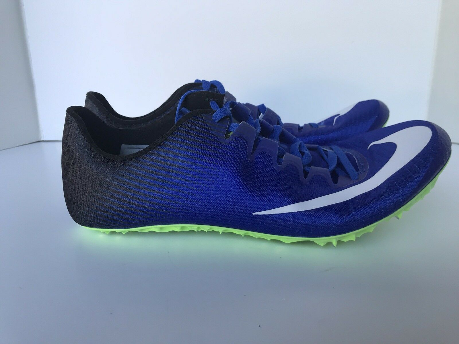 Nike Sz 12 Zoom Superfly Elite Racing Spikes Track Sprint Shoes 835996-413