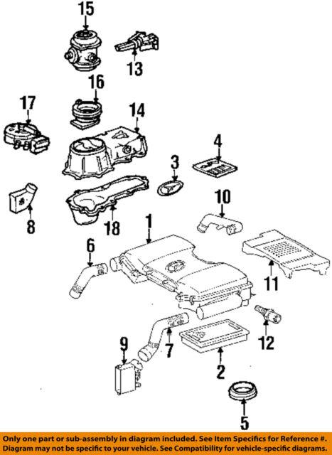91 MERCEDES BENZ Sl500 R129 Engine Bay Cover 1190900112 | eBay