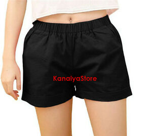 Black - Cotton Unisex Boxer Pants Pantaloons Sissy Adult Baby Fits sleep wear