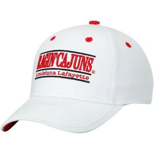 super popular 6a6a7 a84e5 Image is loading Louisiana-Ragin-Cajuns-Hat-White-NEW-The-Game-
