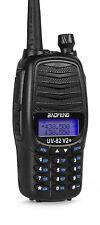 Baofeng UV-82 V2+ TRI-POWER (7 Watt) Two Way Dual-Band HAM Radio UHF/VHF FM Freq