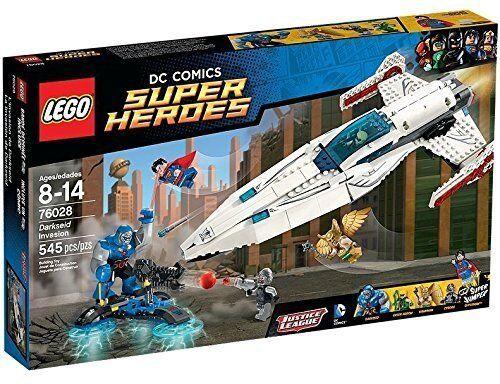 Lego Super Heroes 76028 Darkseids Assalto Nuovo Confezione Originale Misb