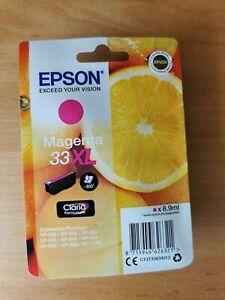 Epson Oranges Magenta 33XL Ink Cartridge (3363)