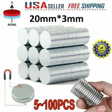 Lot N35 Powerful Round Disc Neodymium Magnets Adhesive Backing Rare Earth Magnet