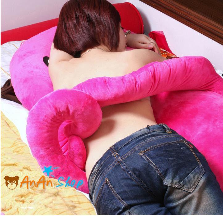 1.3m Plush Octopus Hold Pillow Stuffed Animal Cushion Soft Toy Girlfriend's Gift