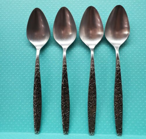 Ekco HODIAK Stainless Oval Soup Spoons