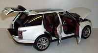 Welly 1/18 Land Rover Range Rover Year 2013 White Gta - Ref 1006mb