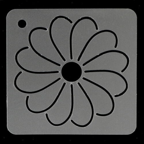 2pcs DIY Flower Plastic Quilting Stencil Template Tool for Patchwork Sewing