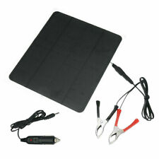 12v 20w Solar Panel Trickle Charge Battery Charger Maintainer Marine Rv Car