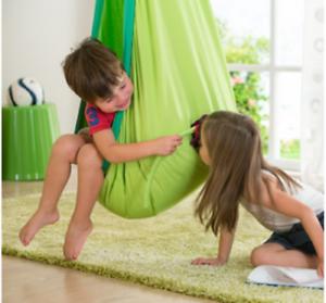 Sensoriale Stanza Da Appendere Verde Sedile Haven DEN Autismo asperges ADHD Chill umore