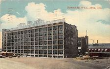 C67/ Akron Summit County Ohio Postcard 1916 Diamond Rubber Company Building 2