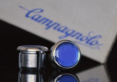 Campagnolo C record Cobalto Handlebar End Plugs Bar Caps lenkerstopfen bouchons