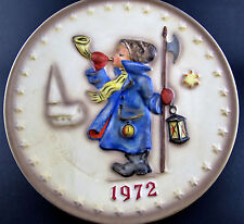 """VINTAGE W. GOEBEL ANUAL PLATE 1972 HAND PAINTED WEST GERMANY 7 1/2"""" (E22)"""
