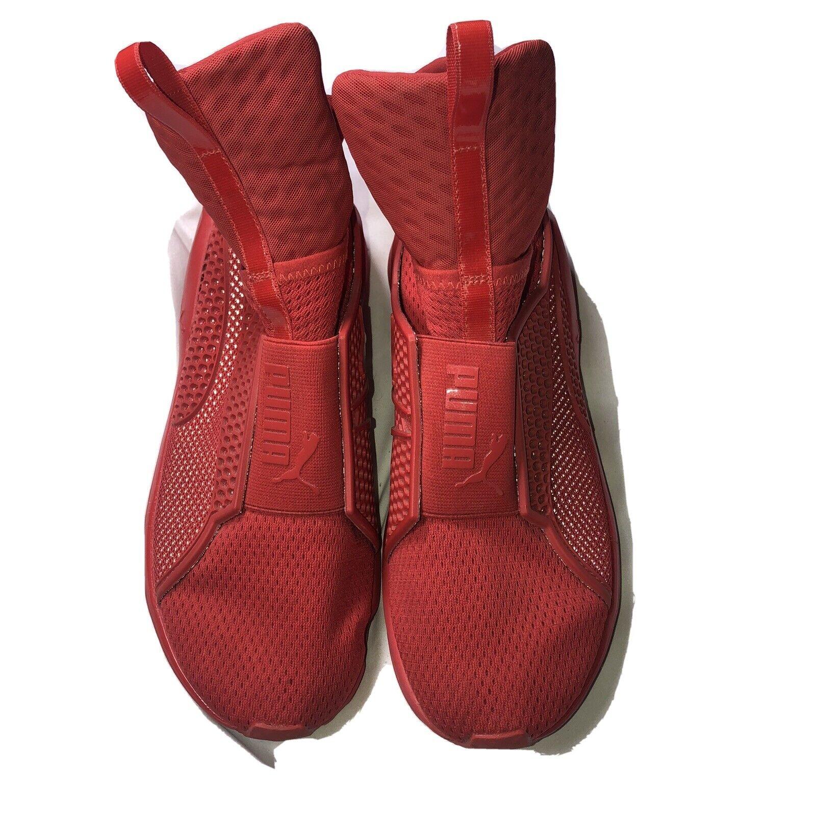Puma féroce Core Matelassé formation dentelle-moins Baskets Fenty Streetwear Taille 8.5