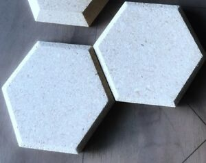 Image is loading Hexagon-5-Concrete-Tile-Molds-15pc & Hexagon 5\u201d Concrete Tile Molds 15pc | eBay