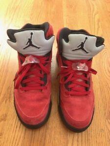 8659779022b 2009 Air Jordan V 5 Retro DMP Raging Bull Red Suede Size 11 VNDS | eBay