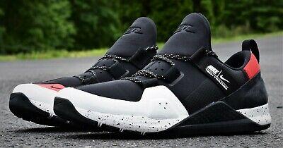 New Men's Trainer Shoes Black White Gym