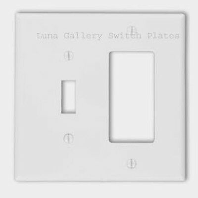 Tile Image On Switch Plates And Outlets - Kitchen Home Decor - Green