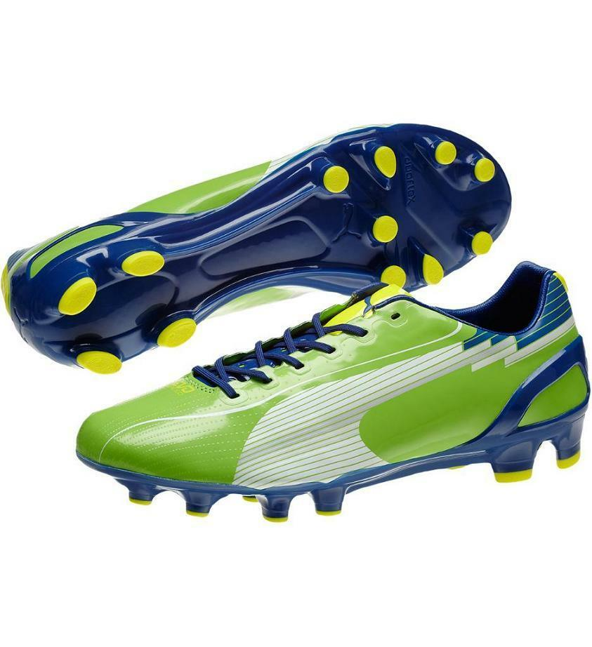 Puma evoSPEED 1 FG Men's Firm Ground Lightweight Soccer zapatos  NEW US 9.5