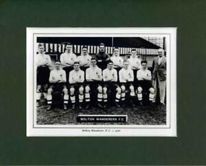 MOUNTED-FOOTBALL-TEAM-PRINT-BOLTON-WANDERERS-1936