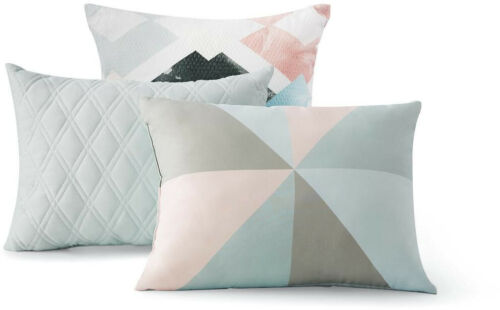 Bedding Comforter Sets Twin/Twin XL Reversible Marble Diamond 8-Piece With Sheet