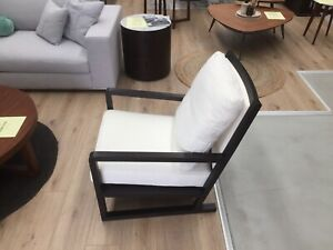 Awesome Details About Modani Designer Walnut Armchair Living Room Bedroom Made In Italy Onthecornerstone Fun Painted Chair Ideas Images Onthecornerstoneorg
