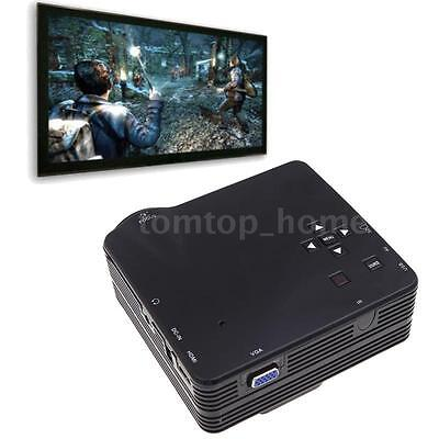 Mini Portable HD LED Projector Home Cinema Theater PC Laptop HD AV VGA SD USB