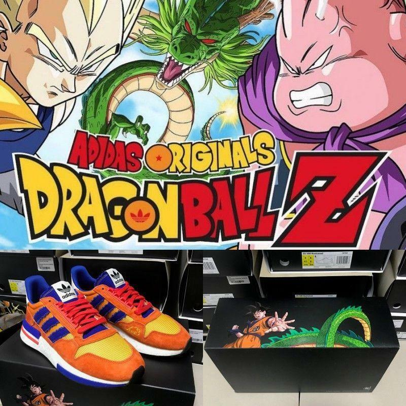Adidas Originals DragonBallZ ZX500 RM Son Goku shoes Sneakers D97046 SZ 4-12